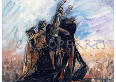 Collage Monumento torero las Ventas