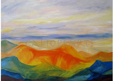 Hacia el horizonte (100x122cm)